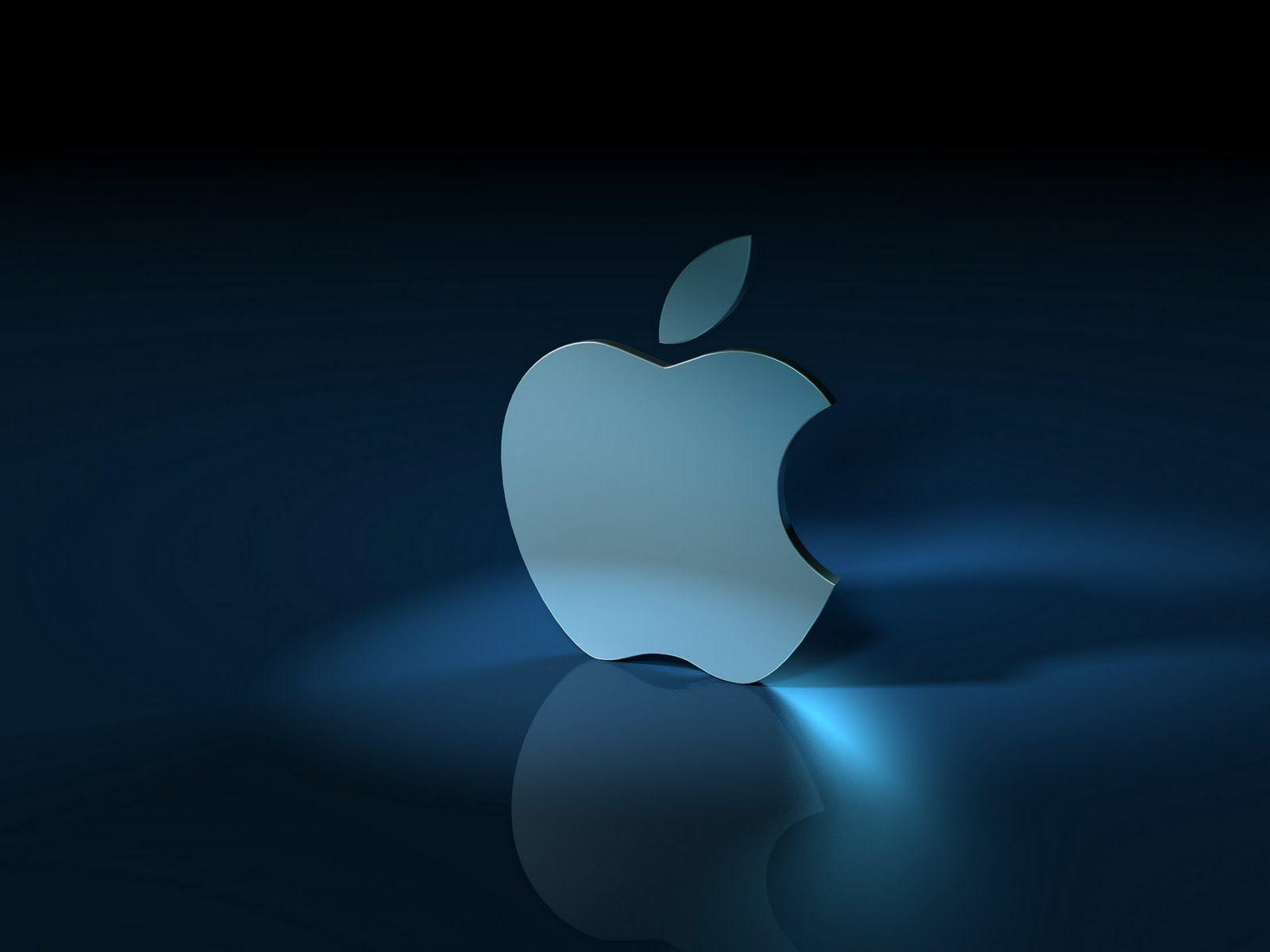 3D Apple Logo Wallpapers
