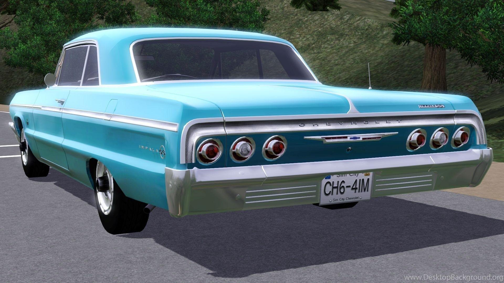 Fresh Prince Creations Sims 3 1964 Chevrolet Impala SS Desktop ...