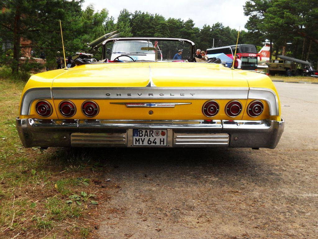 yellow on 1964 Chevrolet Impala Convertible Low-Rider (six… | Flickr