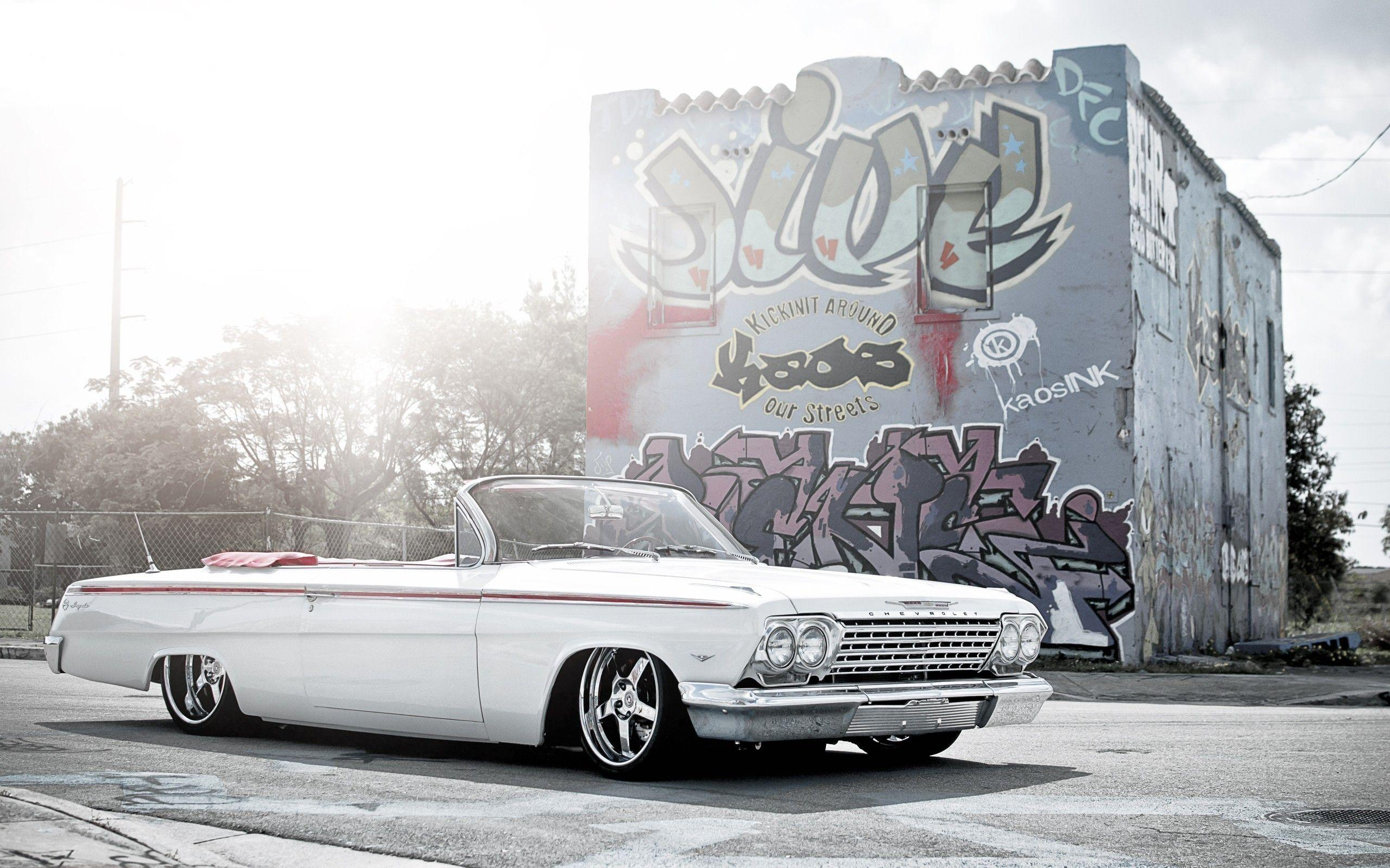 1964 Chevy Impala Lowrider Wallpapers ✓ Labzada Wallpapers