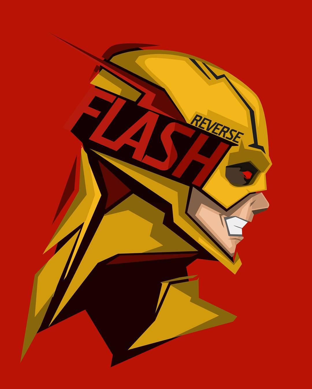 Flash Vs Reverse Flash Wallpapers Wallpaper Cave