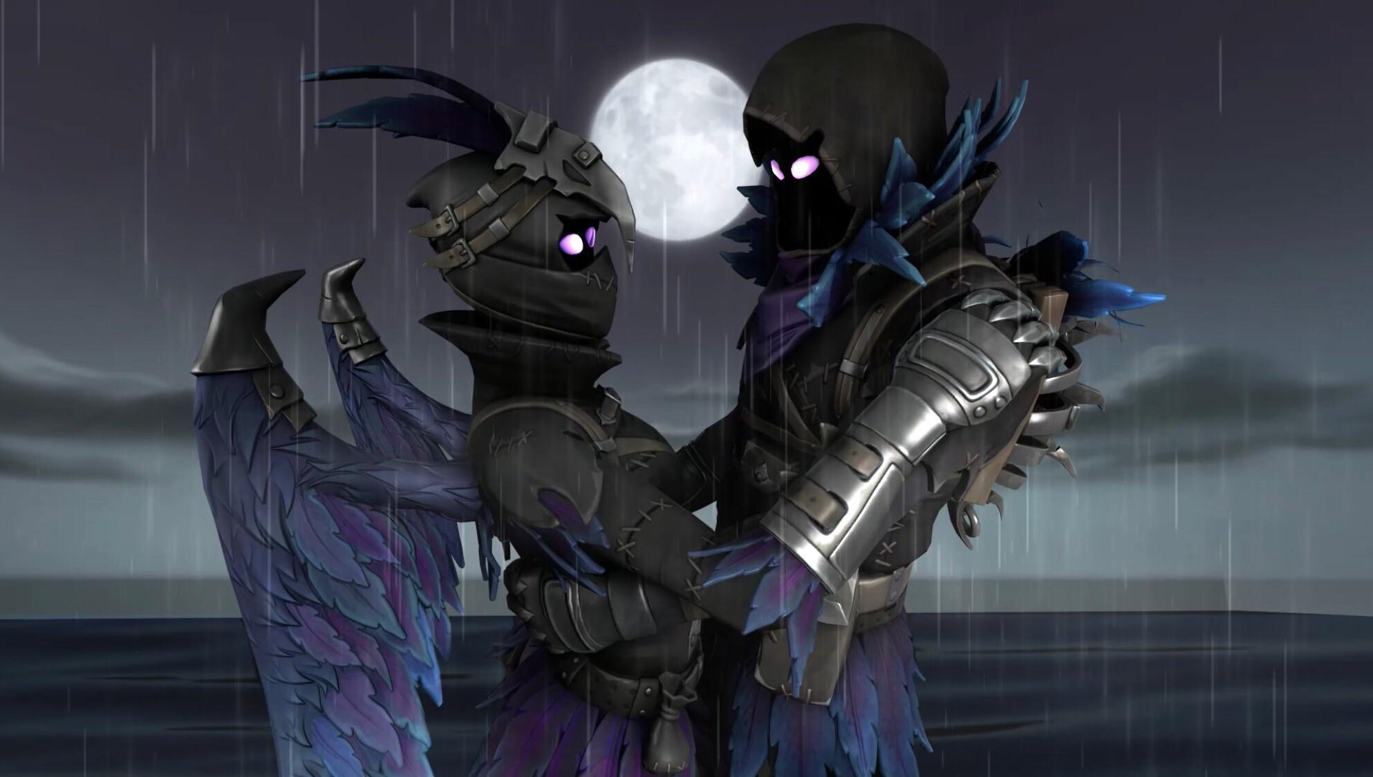 Wallpapers I made for myself of Ravage and Raven