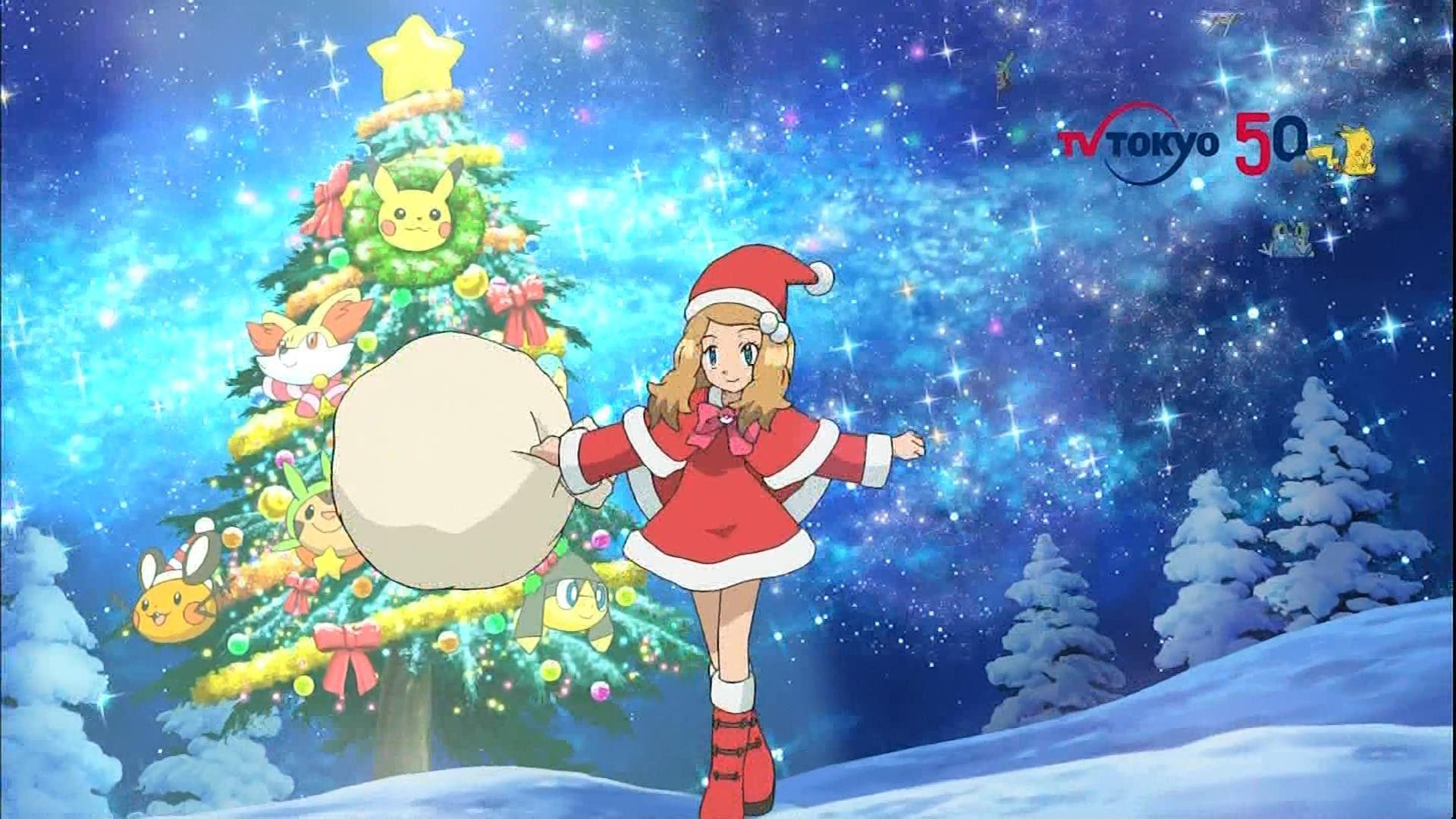 Christmas Pokemon Wallpapers Wallpaper Cave