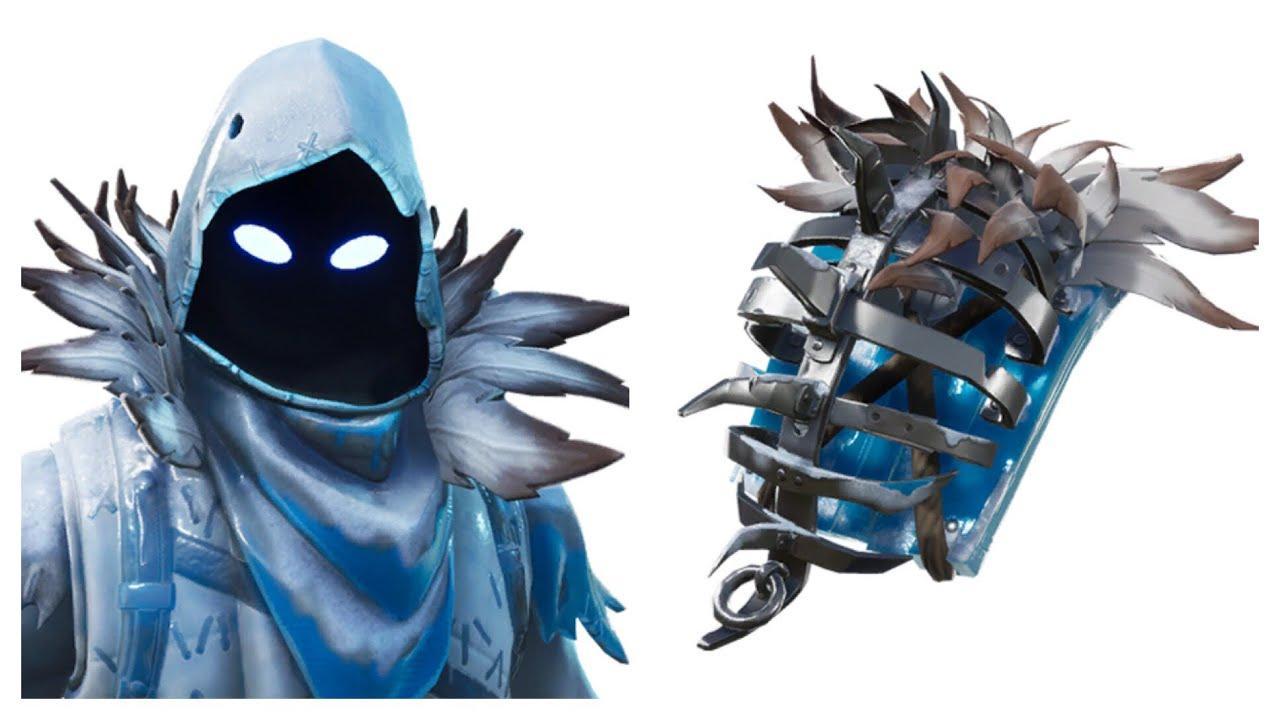 frozen raven fortnite wallpapers