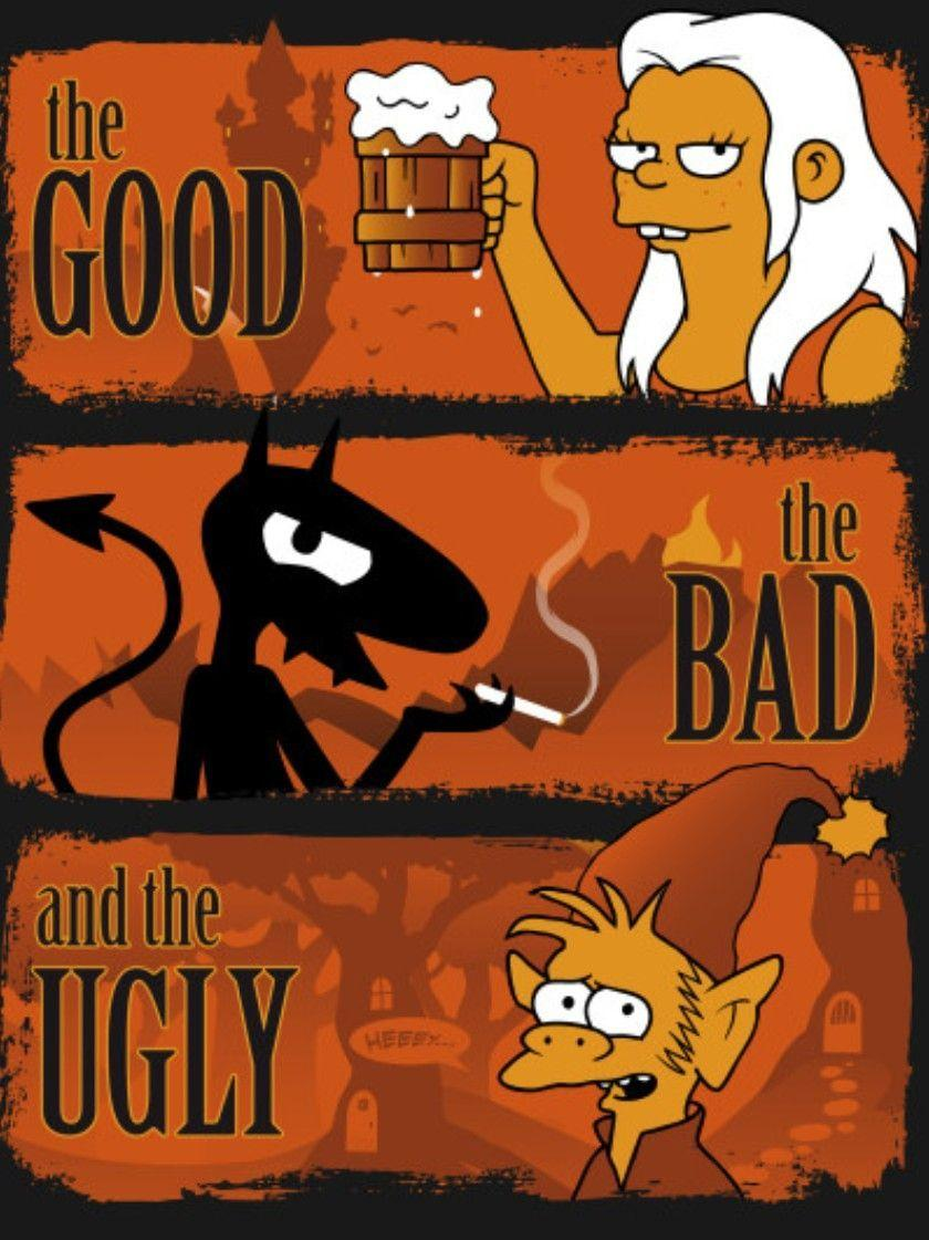 The Good, The Bad & The Ugly, Disenchantment | Disenchantment ...