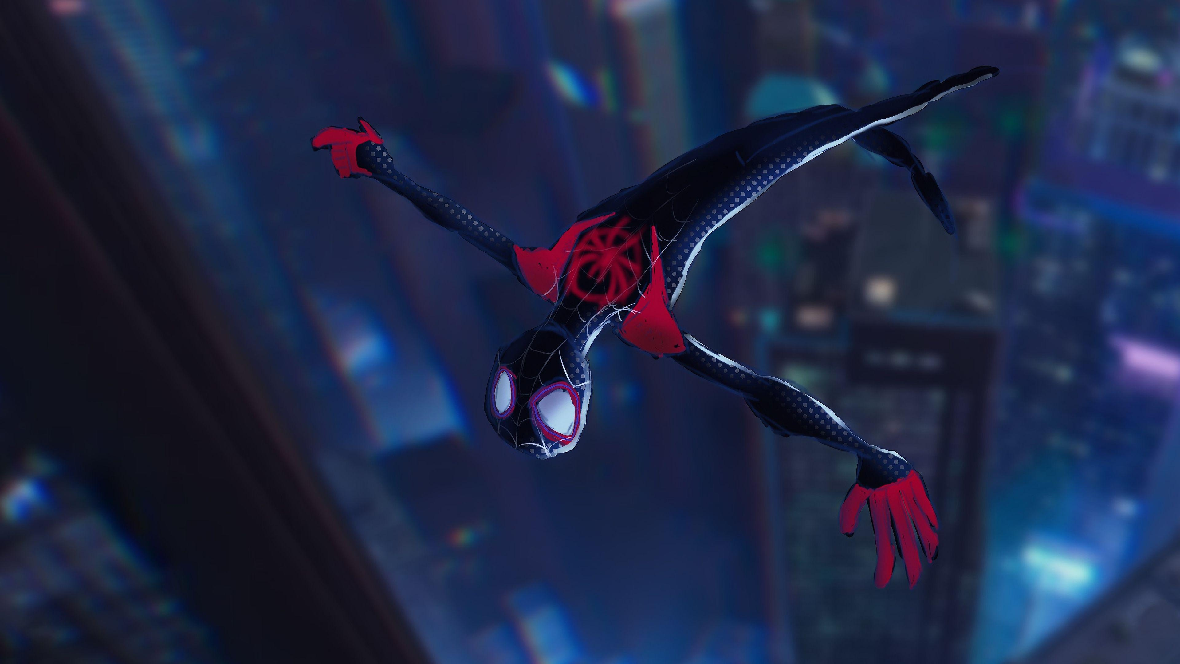 SpiderMan Into The Spider Verse 4k, HD Movies, 4k Wallpapers, Image