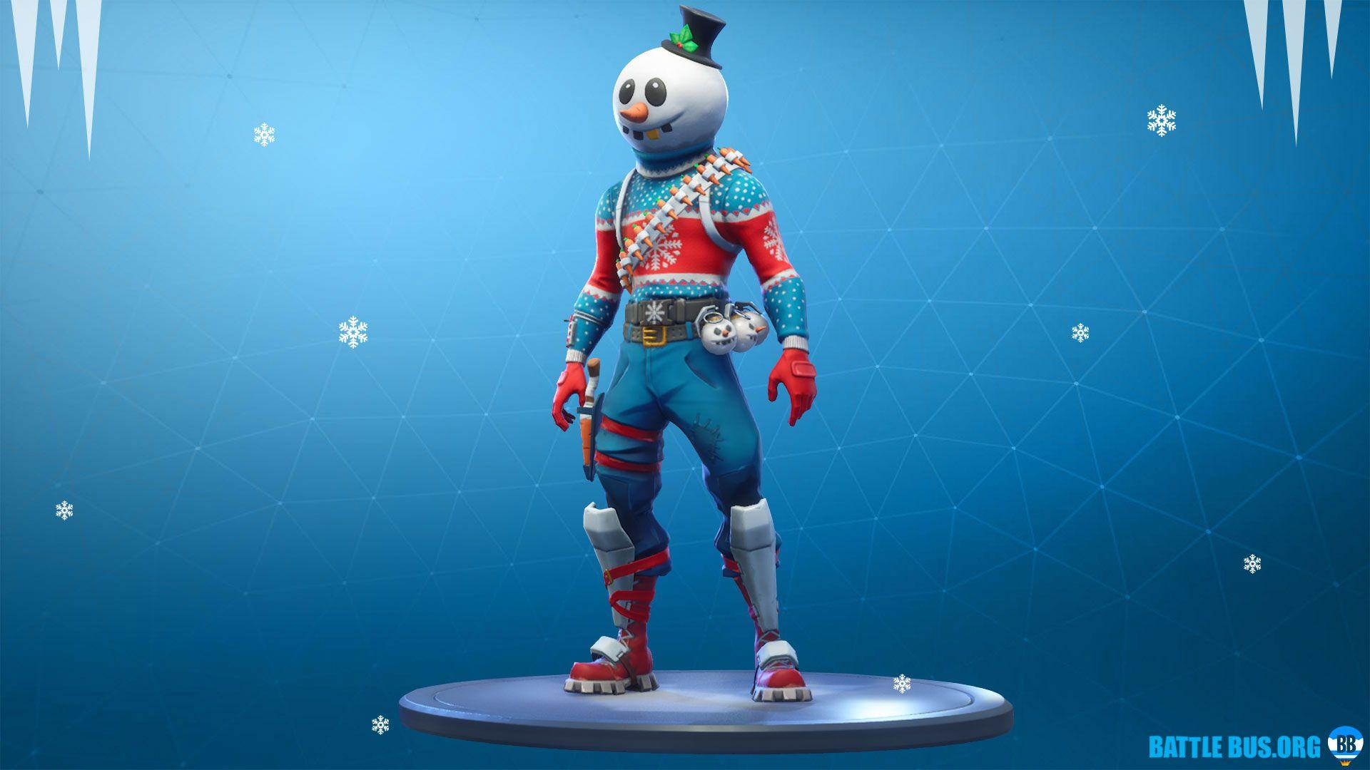 Slushy Soldier Outfit - Season 7 Christmas skins, Info, Cost and Set ...