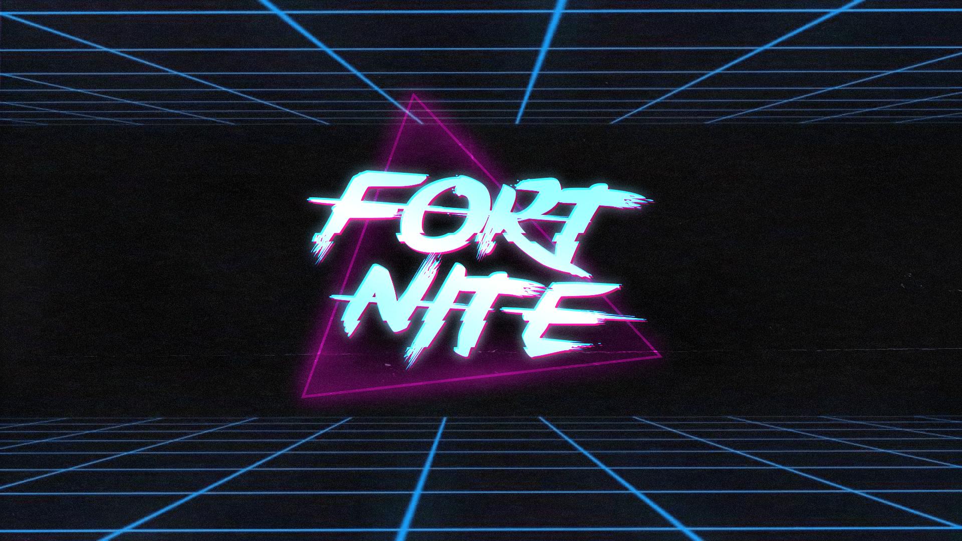 Neon Fortnite Wallpapers Wallpaper Cave