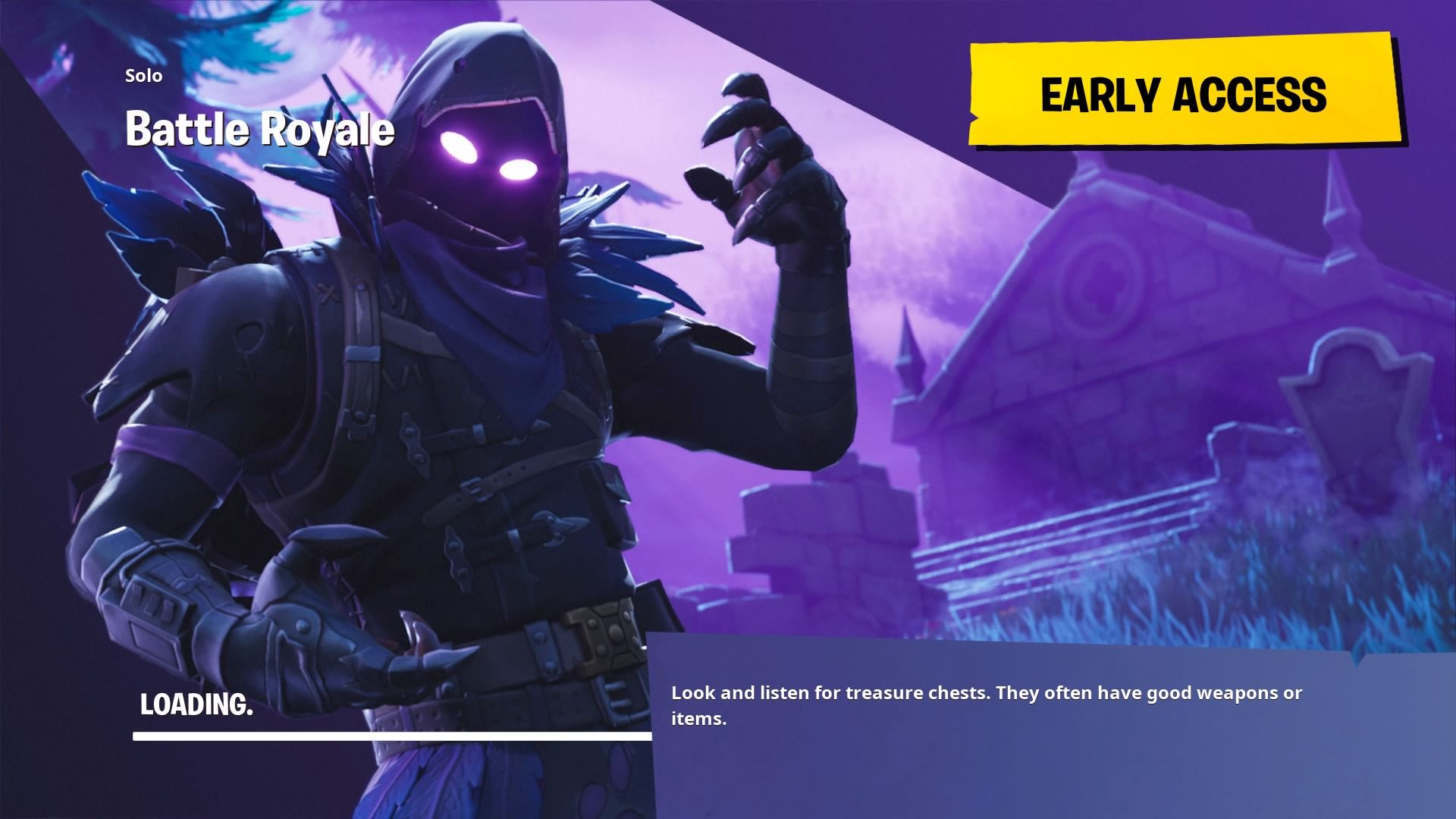 Fortnite Raven Loading Screen Wallpaper 64832 1920x1080px