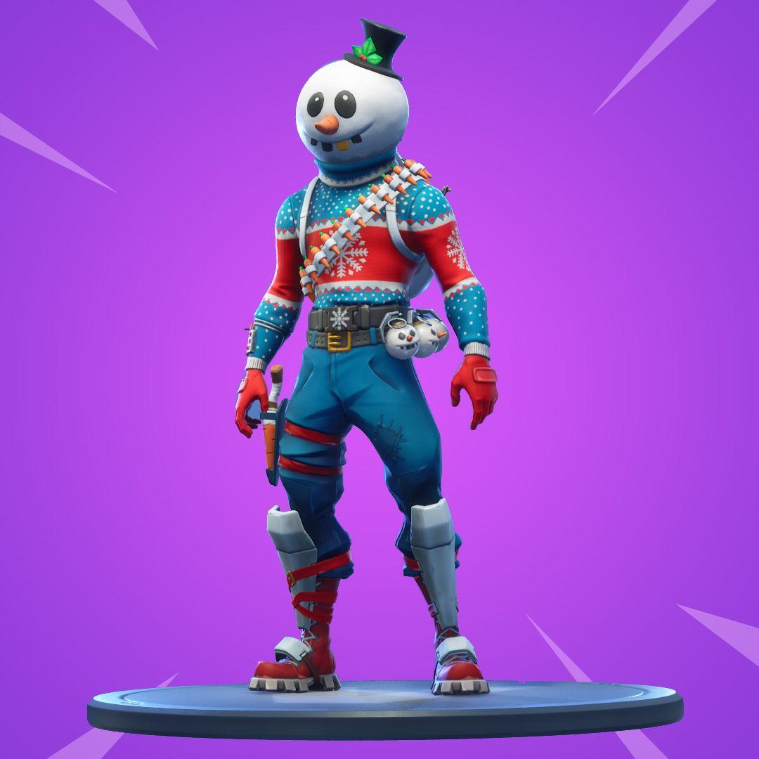 Slushy Soldier - Outfit | fnbr.co — Fortnite Cosmetics