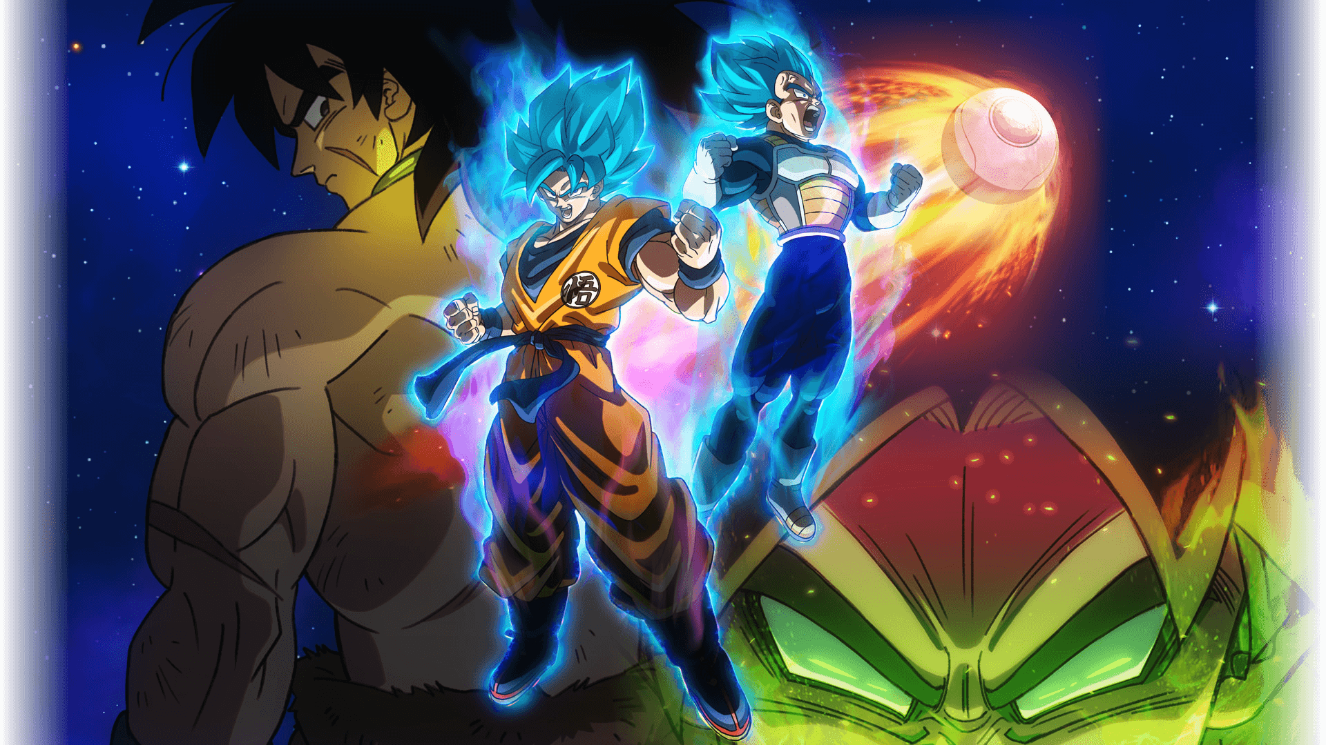 Dragon Ball Super Broly Hd Wallpapers Wallpaper Cave