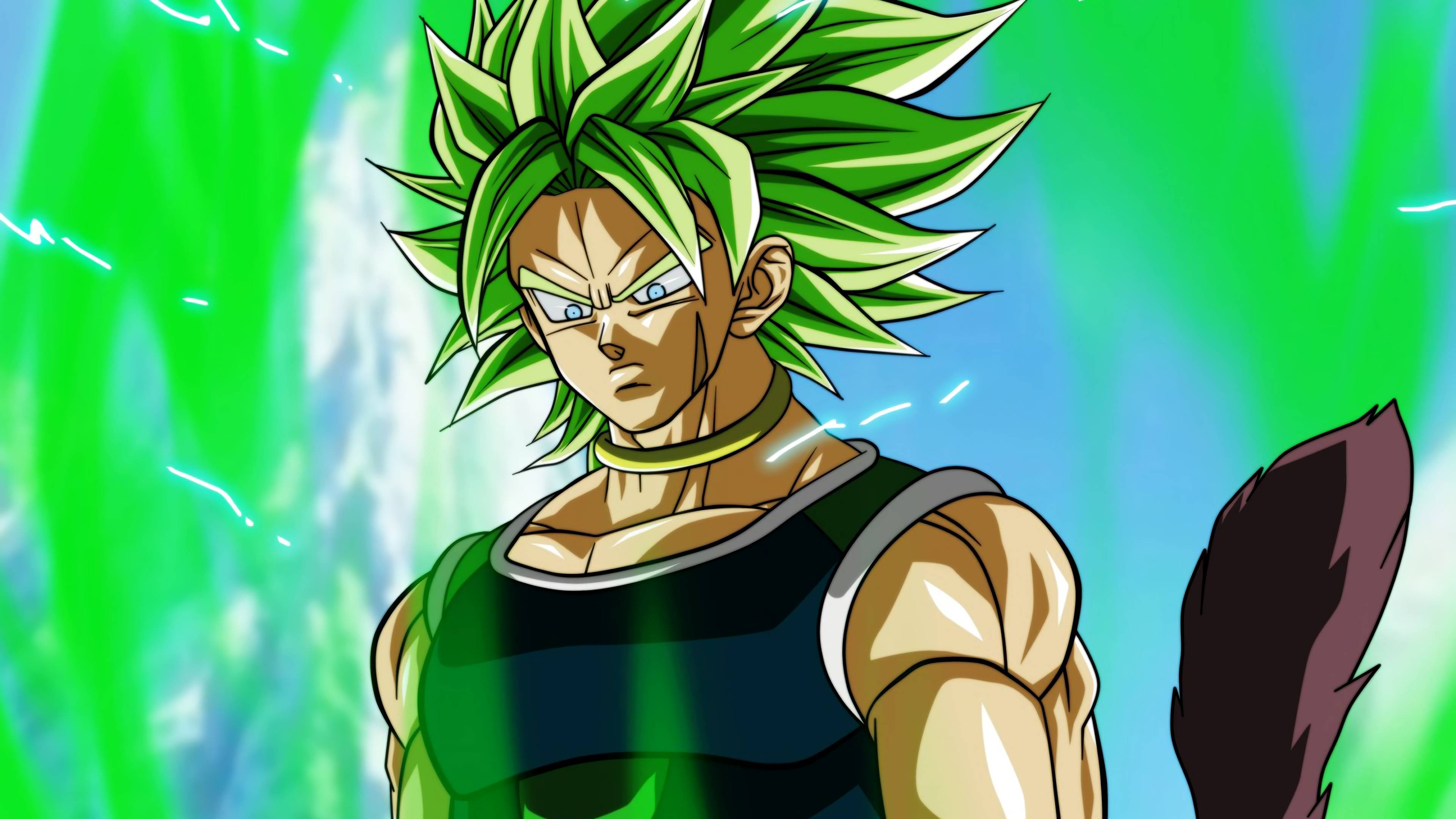 Dragon Ball Super: Broly Movie 4K 8K HD Wallpapers