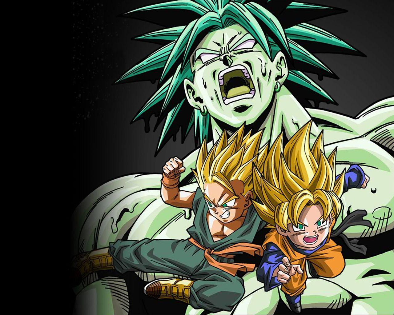 Trunks And Broly