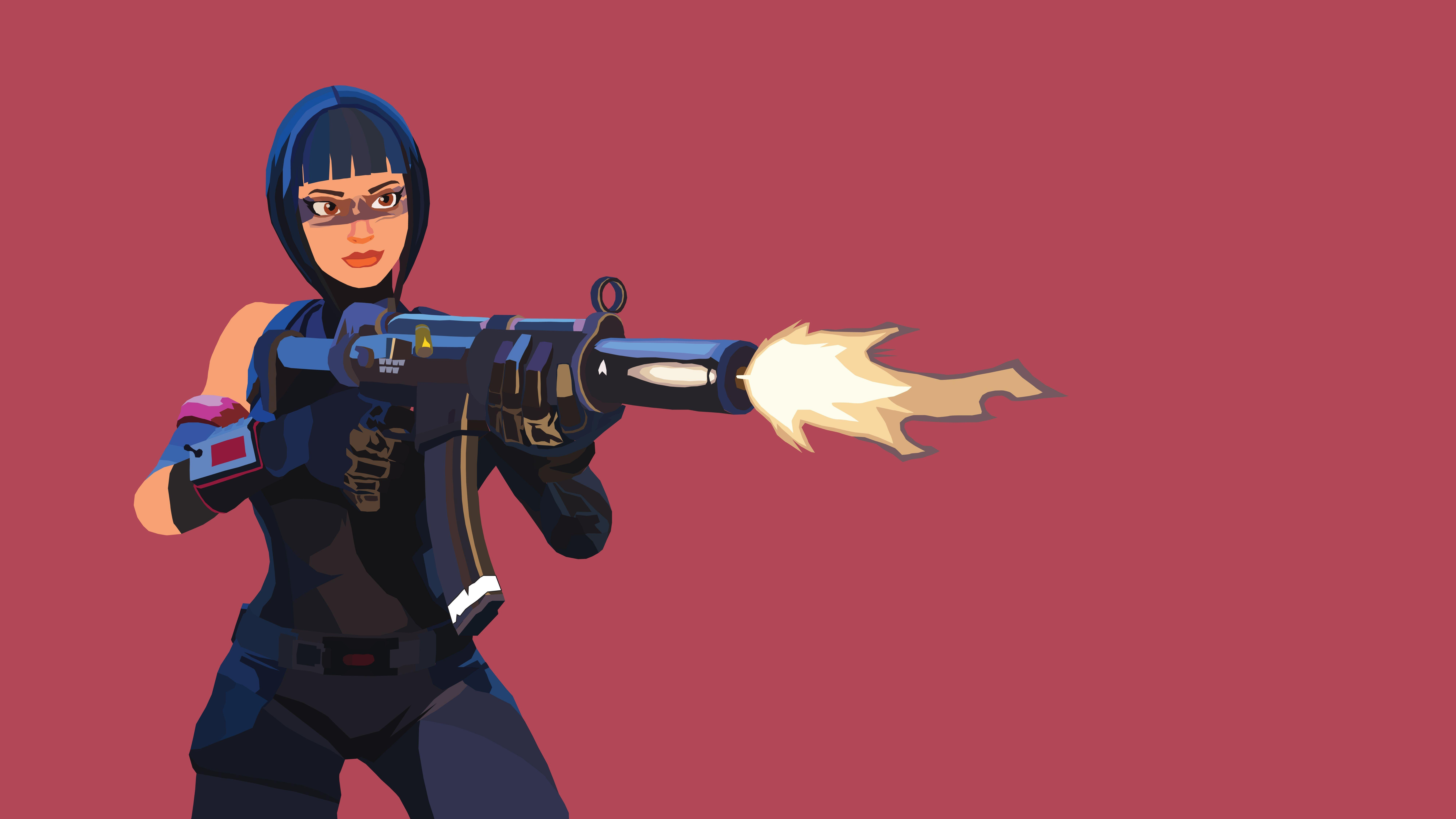 Shadow Ops Vector Illustration Wallpaper : FortNiteBR