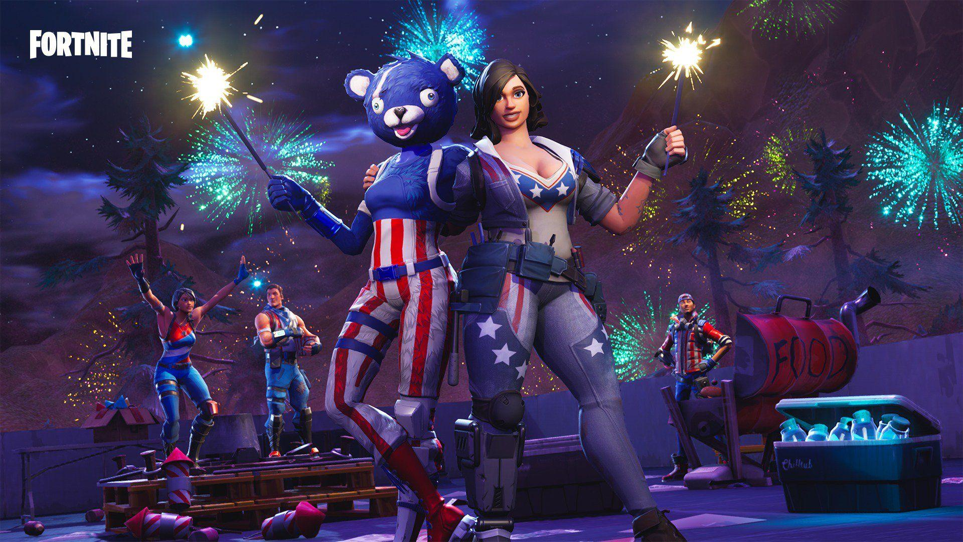 Possible Live Fortnite Fireworks Event for 4th July Tonight & More ...
