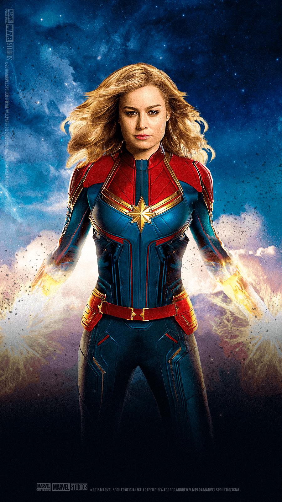 Captain Marvel Wallpaper Cave