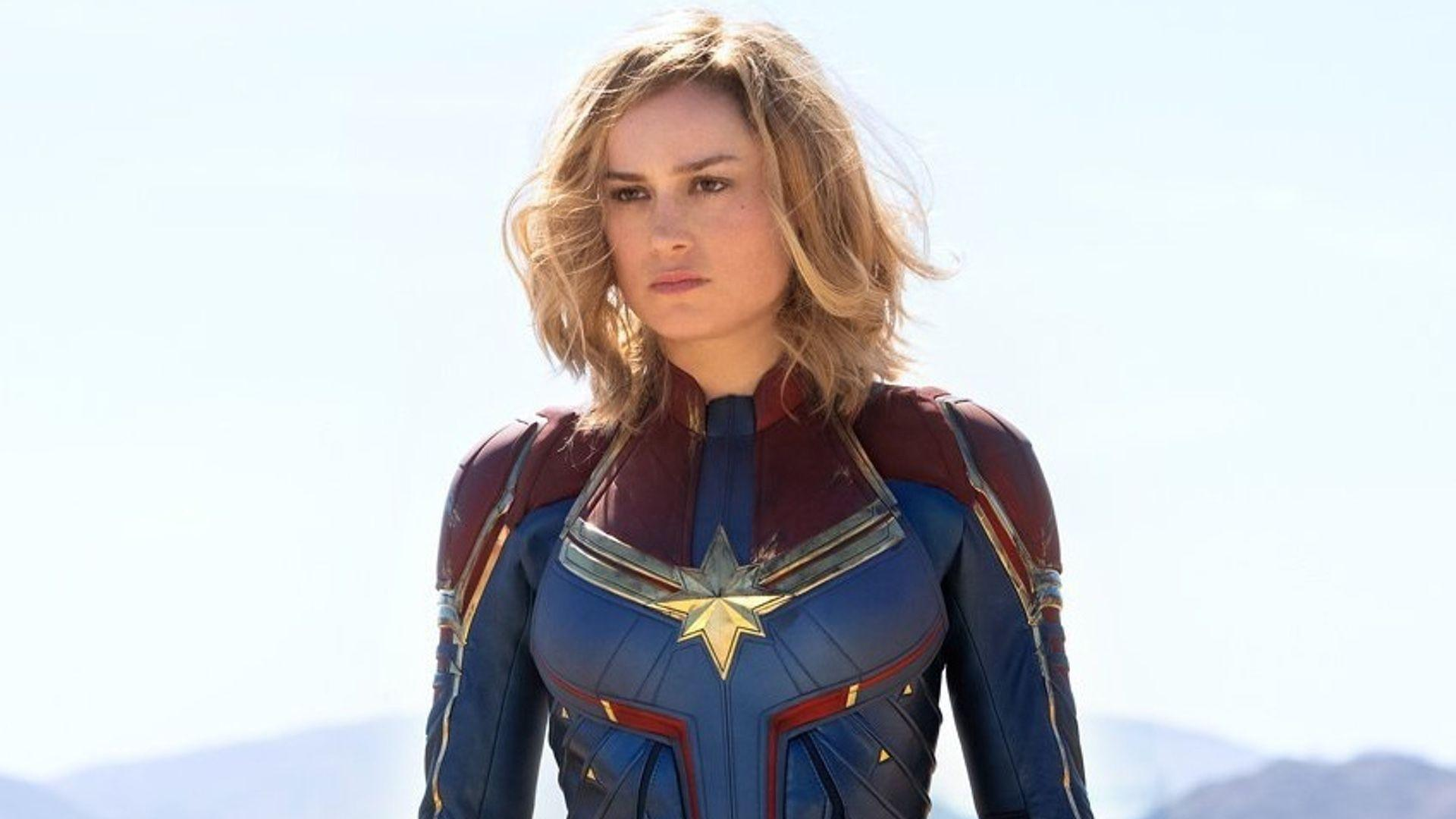 Here's Our First Official Look at Brie Larson as CAPTAIN MARVEL and