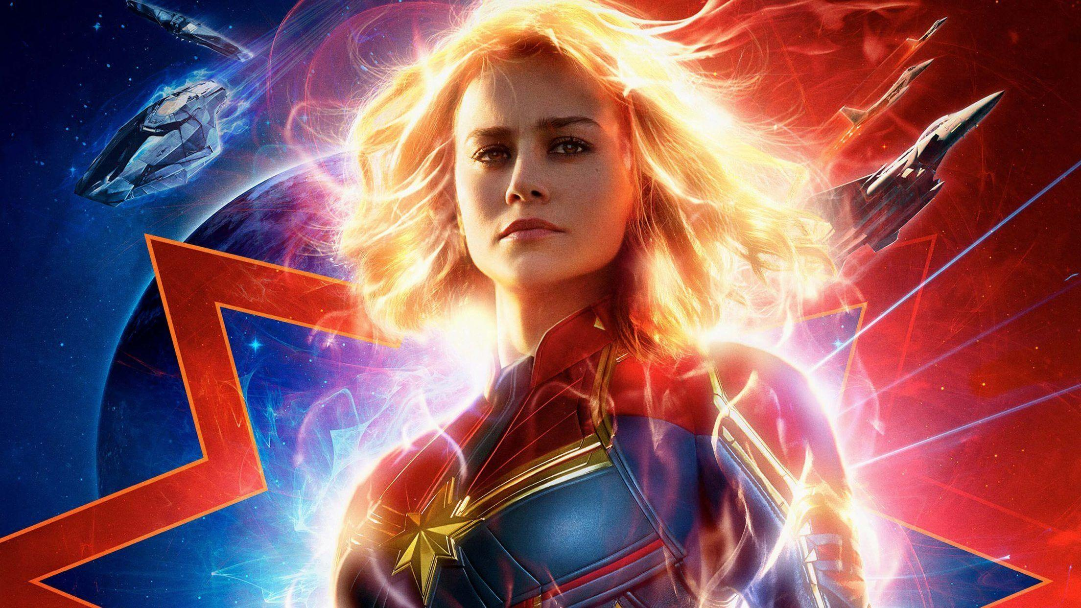 Captain Marvel Movie Iphone Wallpapers