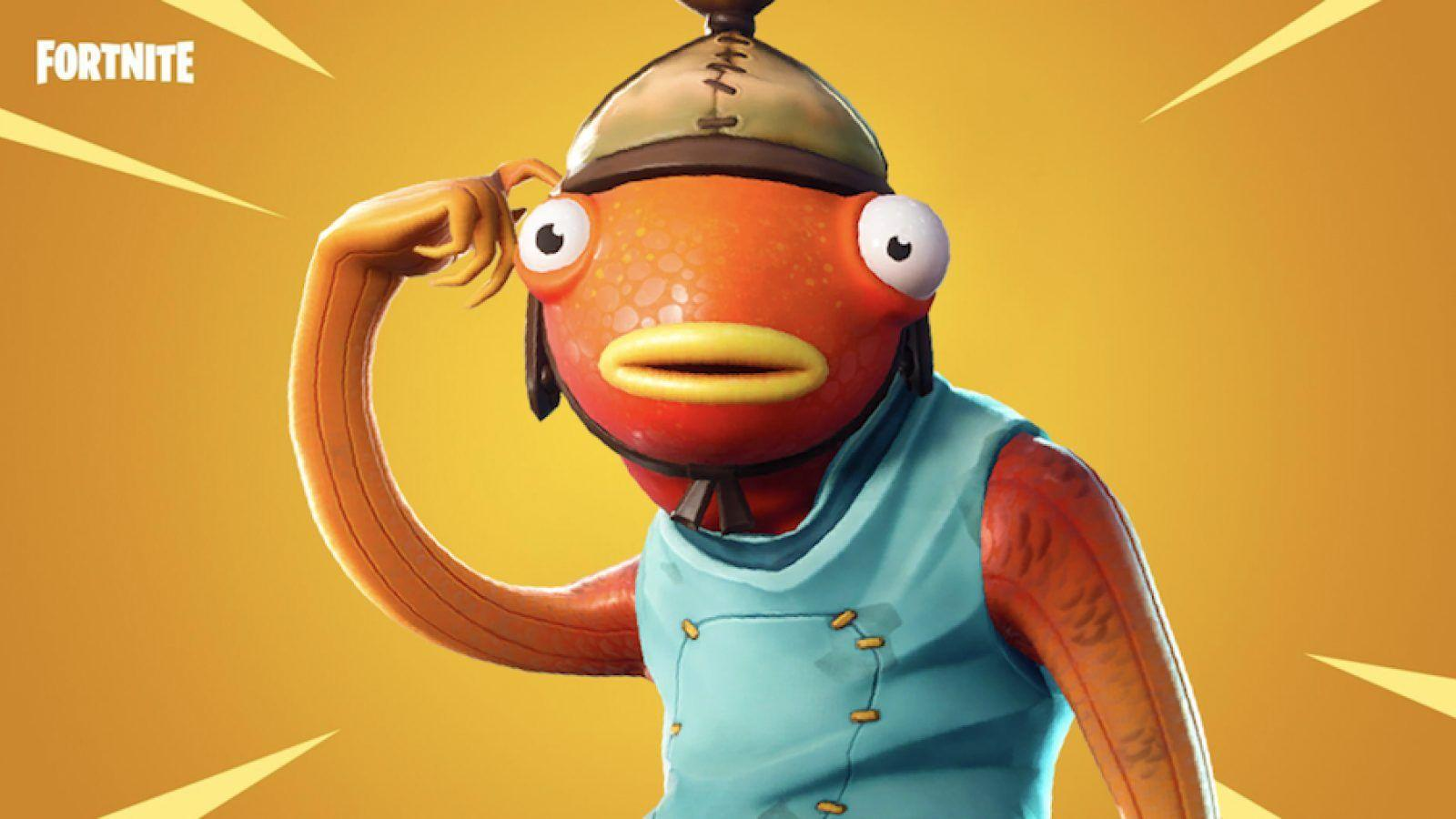 Fortnite players think they've seen Fishstick somewhere before ...