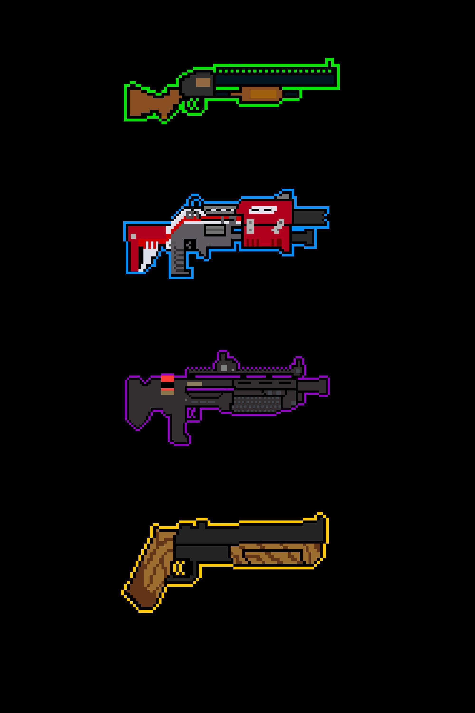 Another wallpapers with all the shotguns. PM me if you need an iPhone