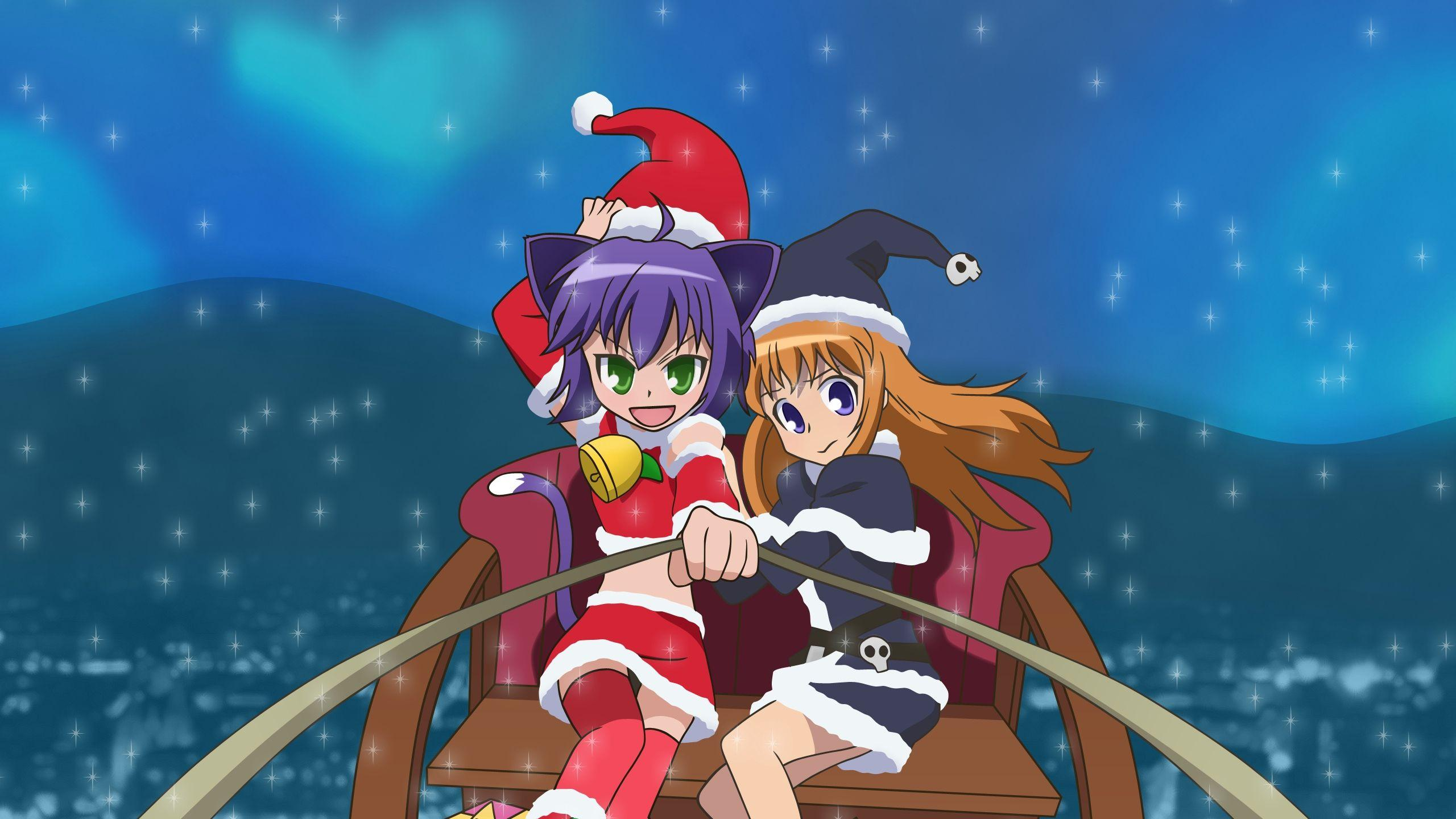 Hd Anime Xmas Wallpapers Wallpaper Cave