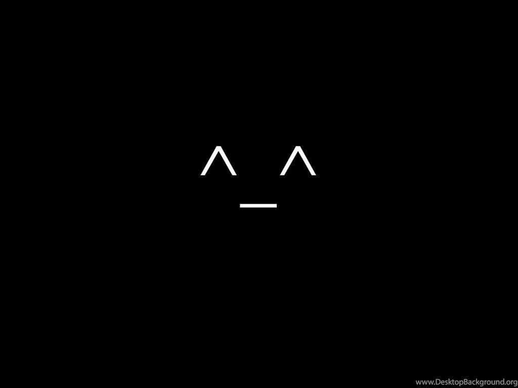 Emoticon Minimalistic Smiley Face Wallpapers