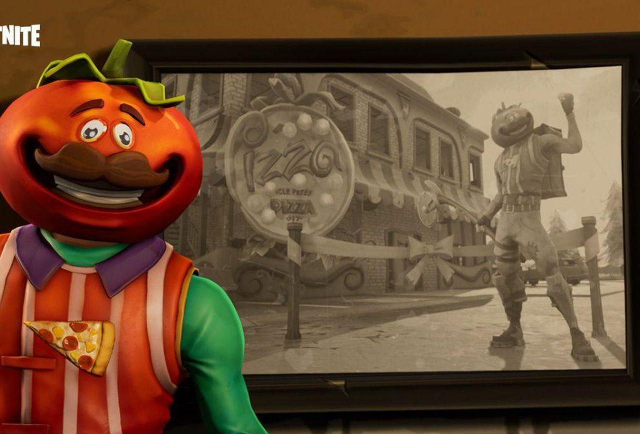 Fortnite's Tomatohead Outfit Is Unsettling In The Best Way