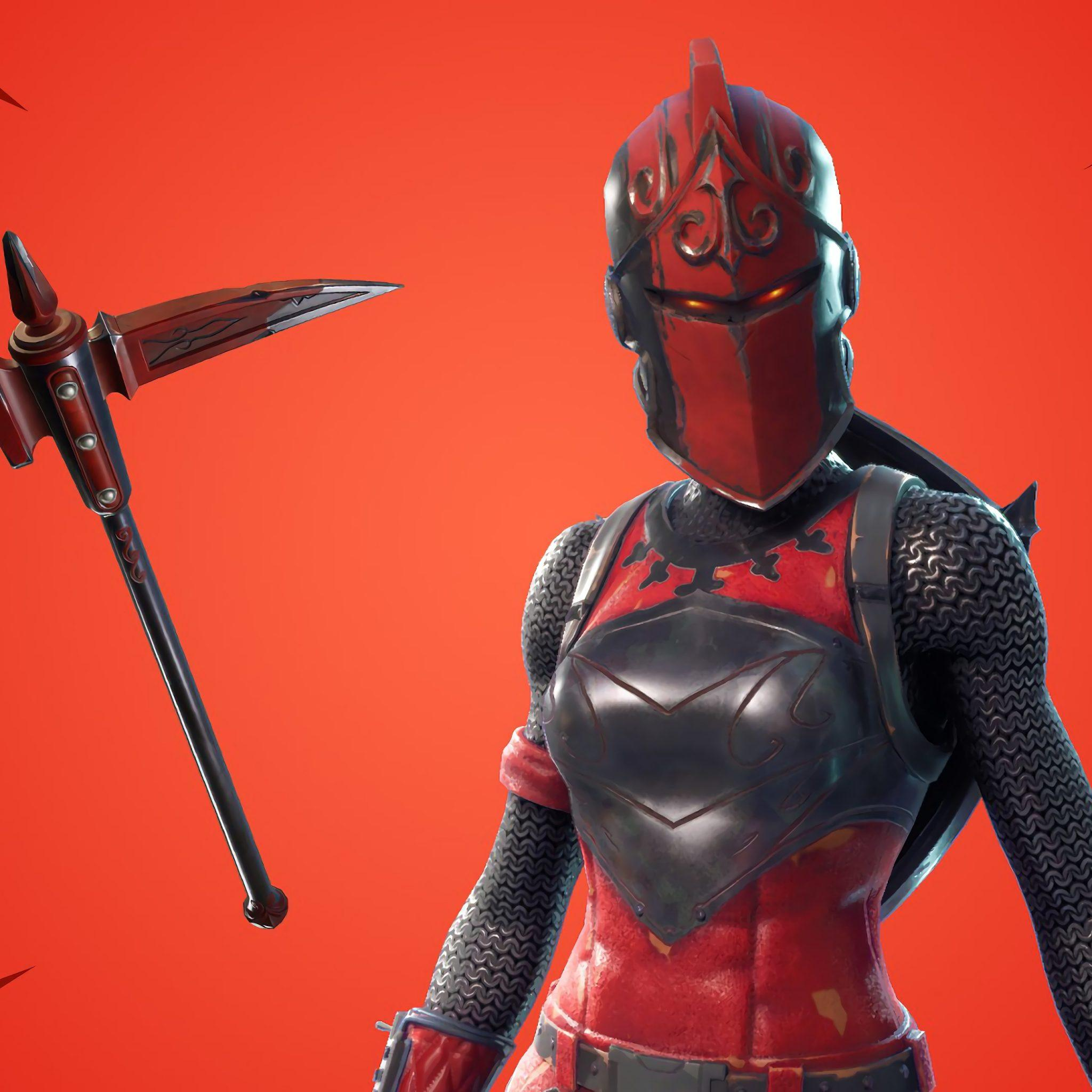 Official Wallpaper Of Red Knight From Fortnite Game | PaperPull