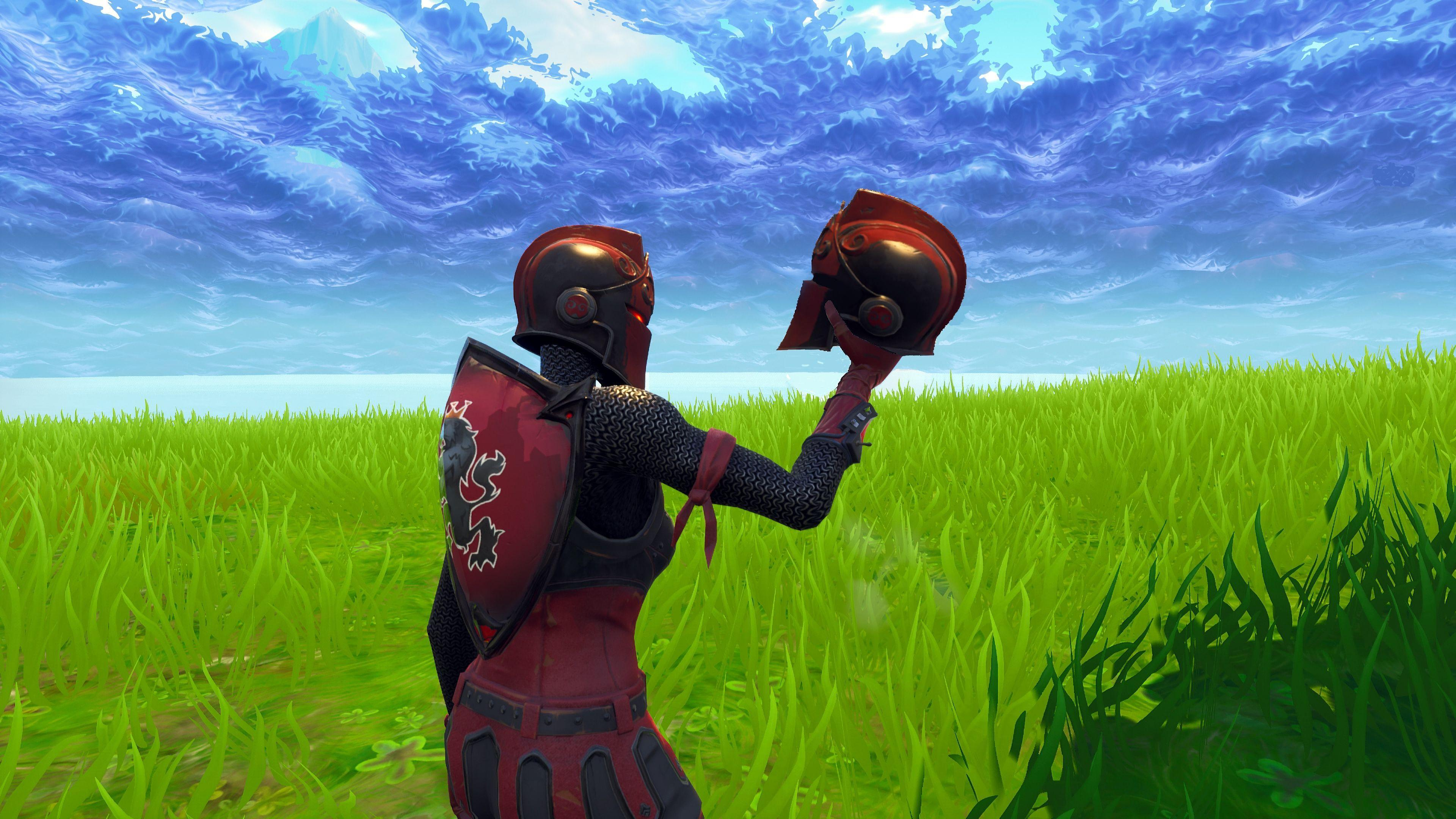 Fortnite Account Xbox One Red Knight Ragnorak Black Red Knight And ...