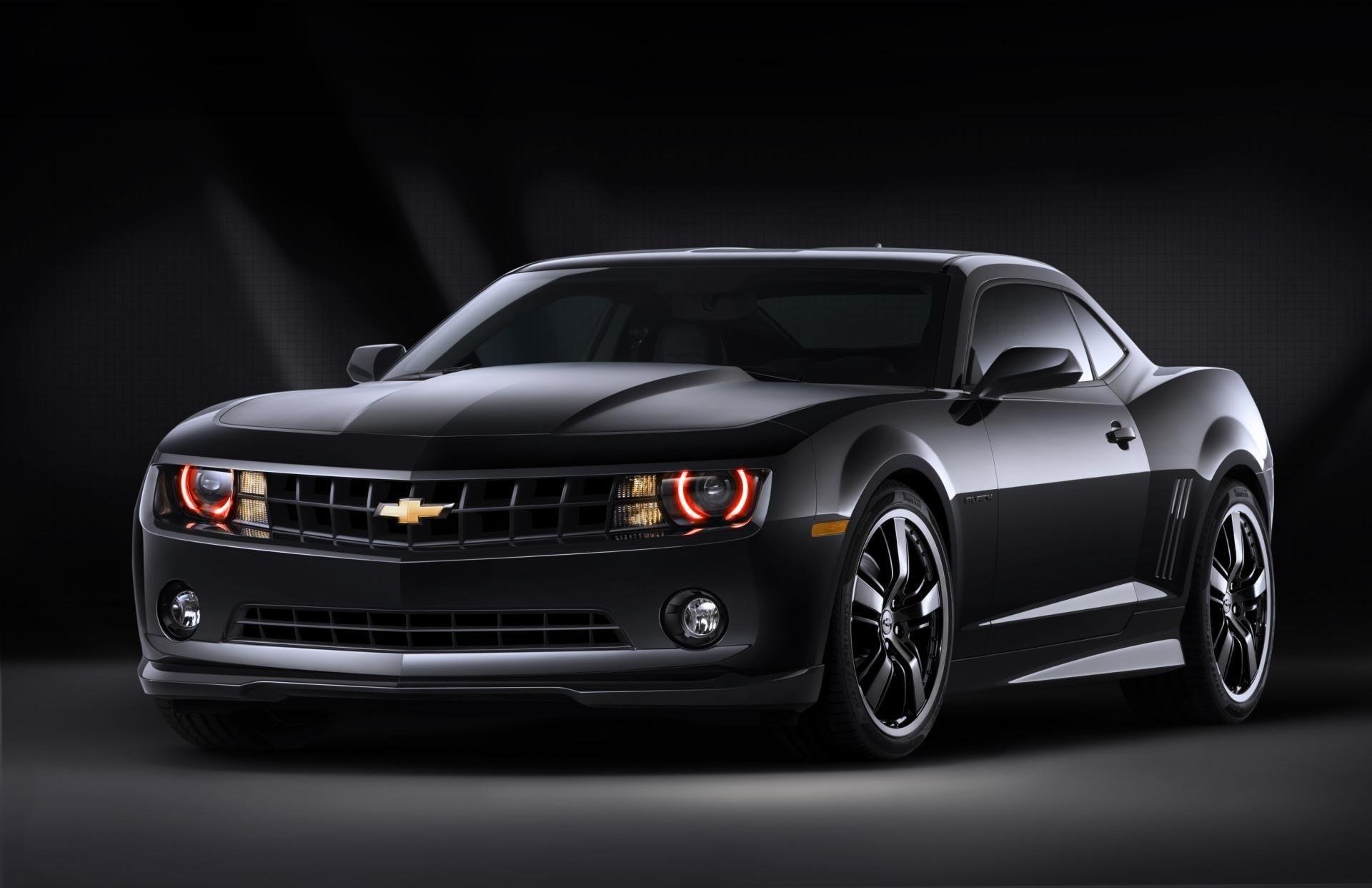 2010 Chevrolet Camaro Black Concept Wallpaper and Image Gallery