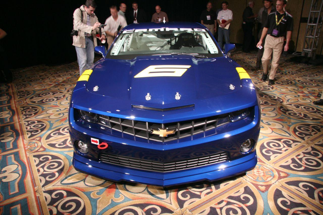 Best Cars Wallpapers: Chevrolet Camaro GS Racecar Concept Car Wallpapers