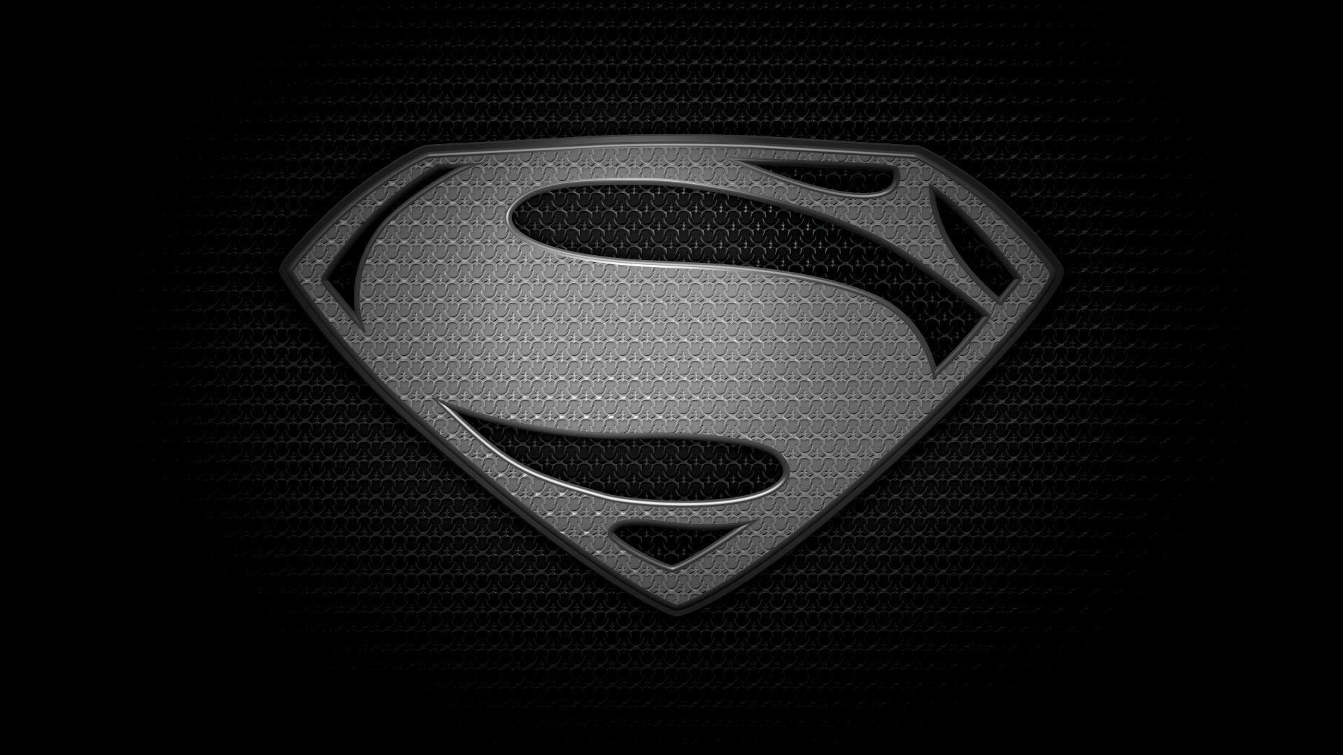 Black Superman Logo Wallpapers Wallpaper Cave