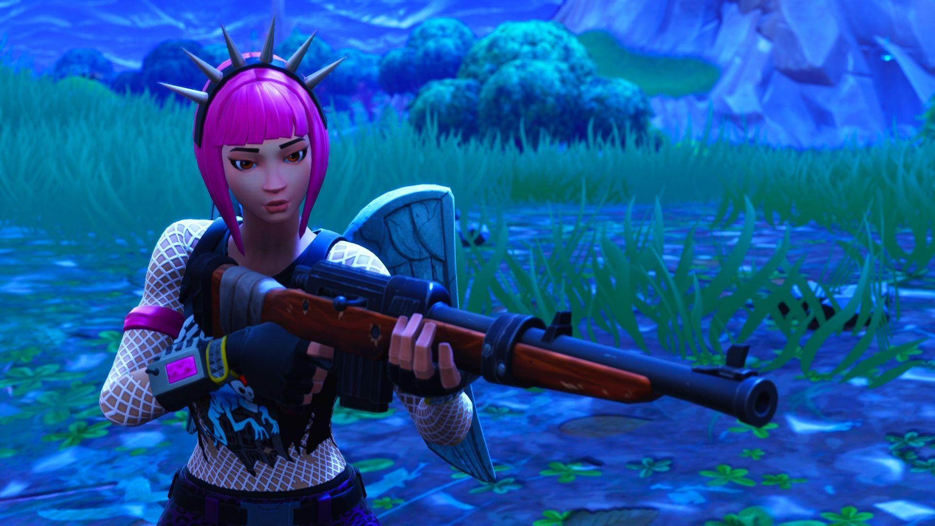 1920x1080 hd wallpaper of power chord fortnite battle royale video - power chord fortnite art