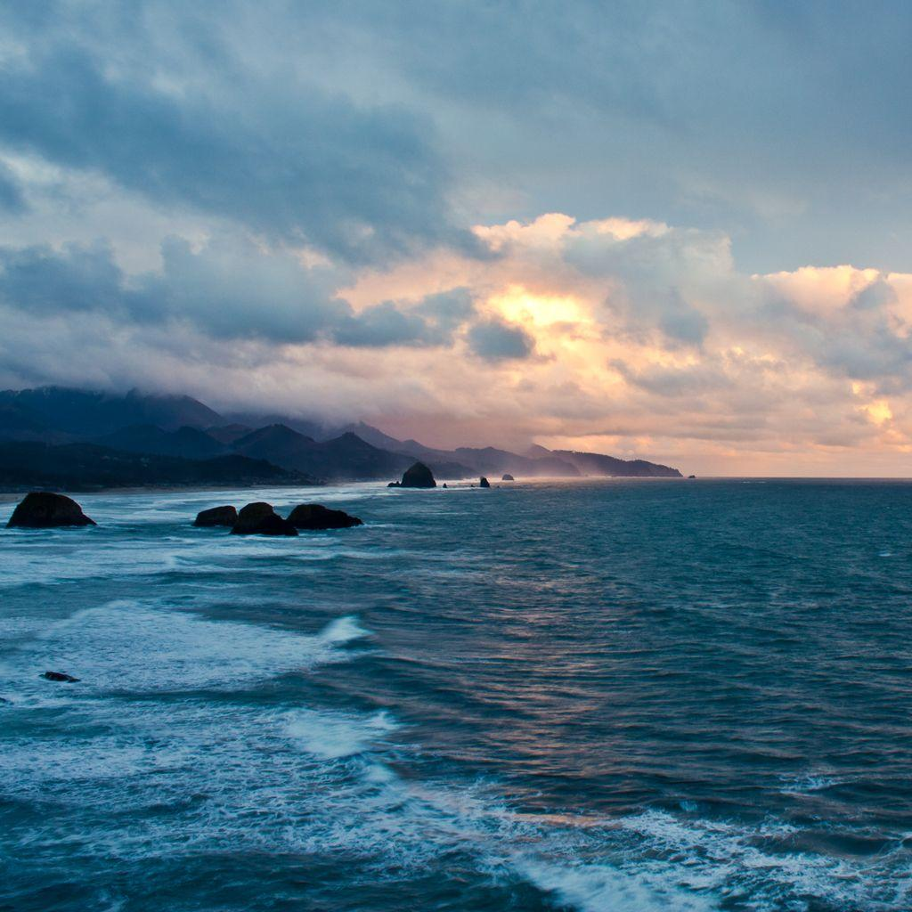 InterfaceLIFT Wallpaper: Oregon Coast Sunset