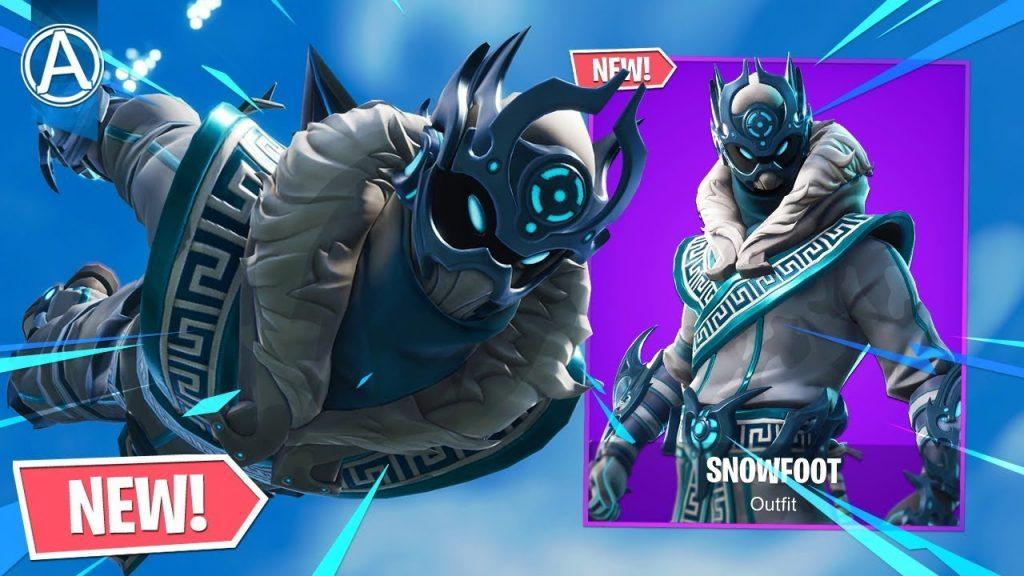 Snowfoot Fortnite wallpapers