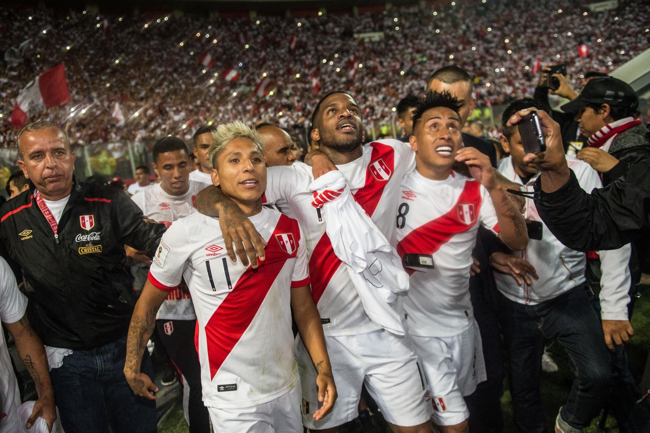 Peru World Cup goal celebrations 'set off earthquake alerts' in Lima