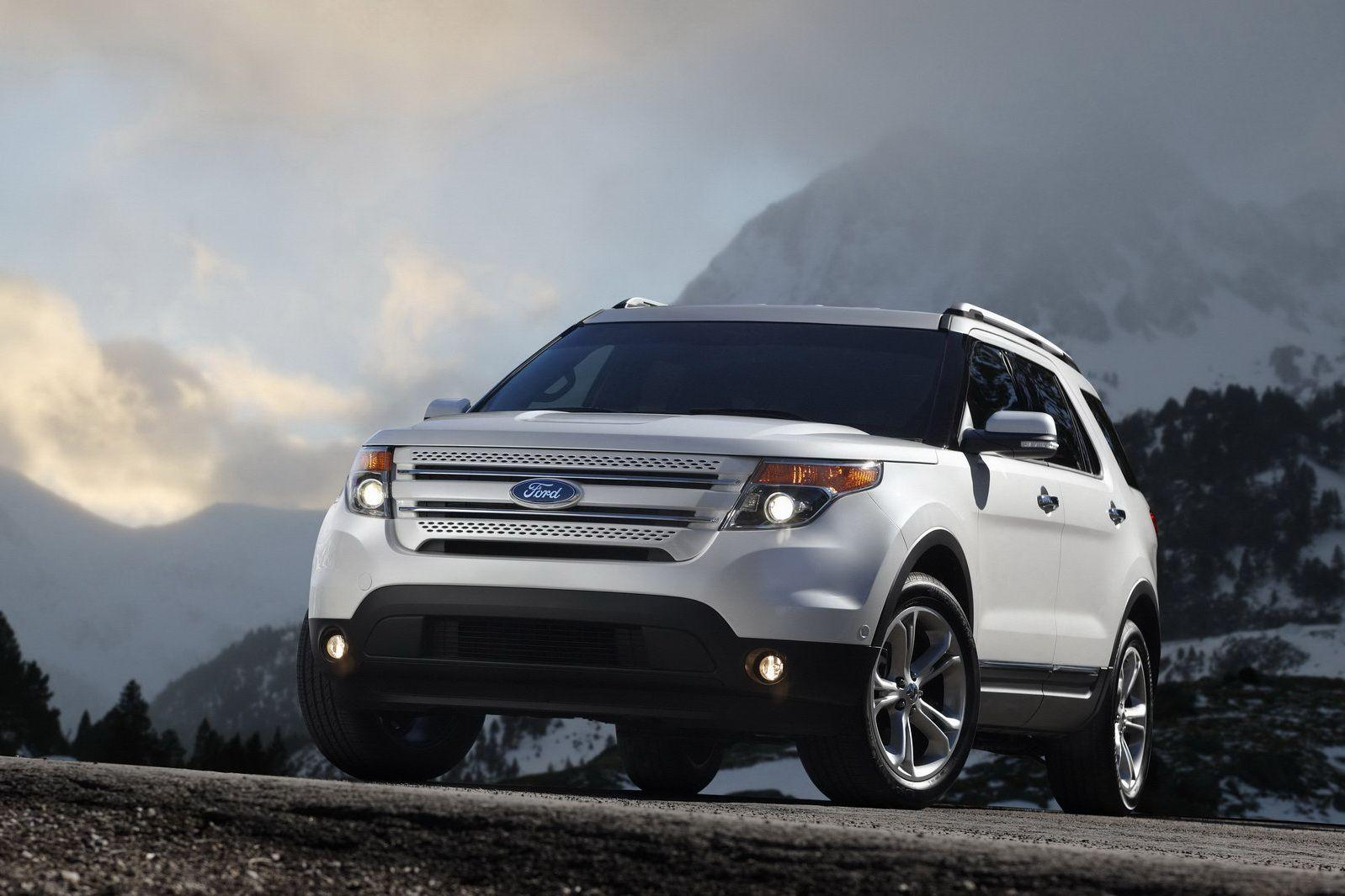 Ford Explorer White Wallpapers PC Wallpapers