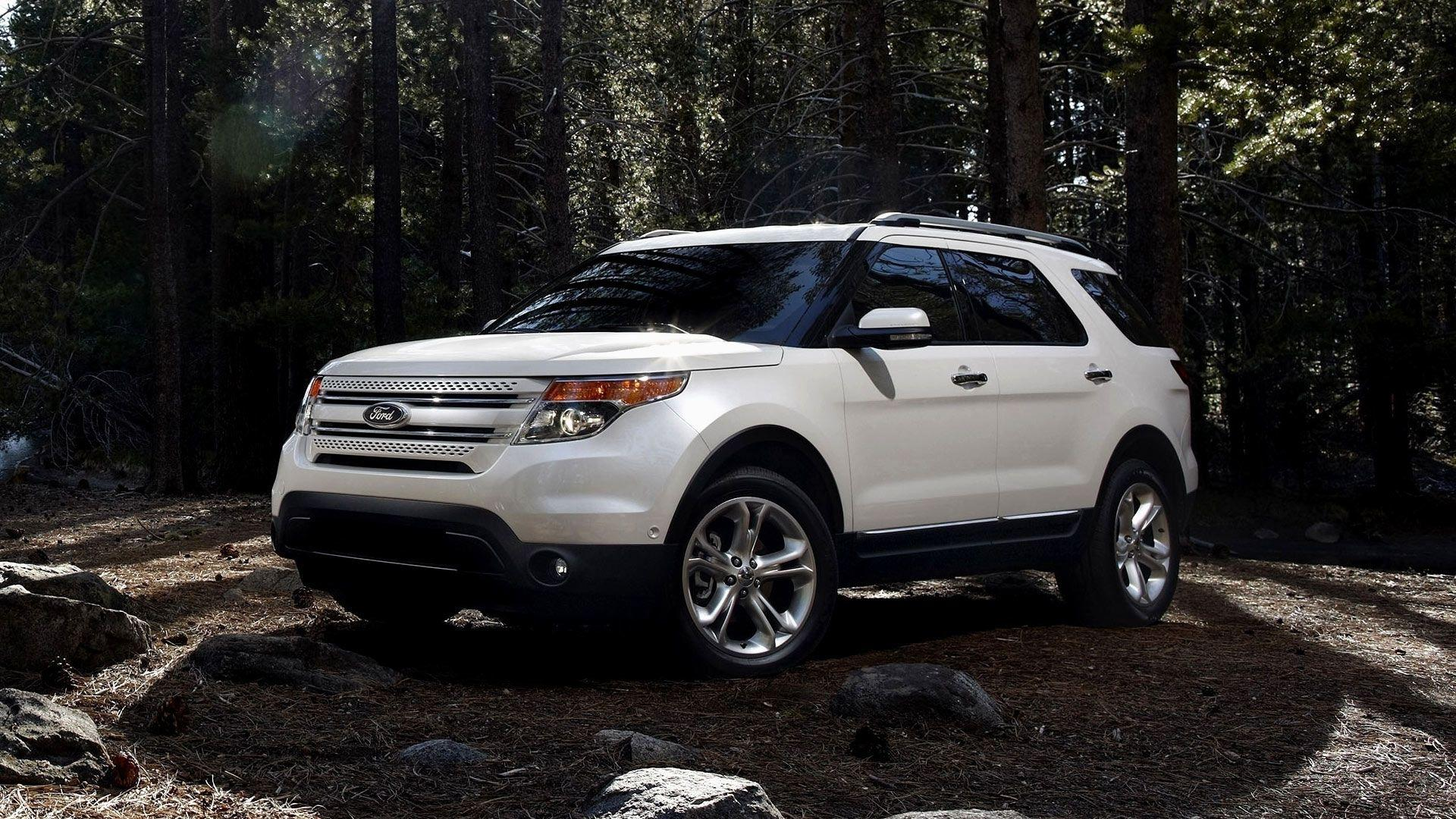 White Ford Explorer Wallpapers Full HD Wallpapers