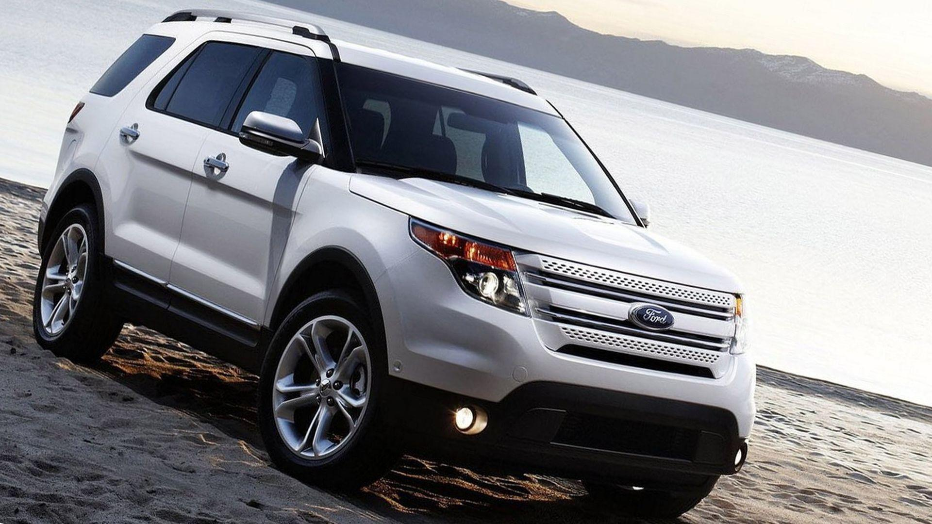 2019 Ford Explorer Wallpapers HD Desktop