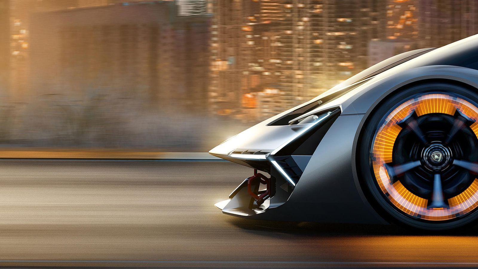 Lamborghini Terzo Millennio is a self-healing supercar from the ...