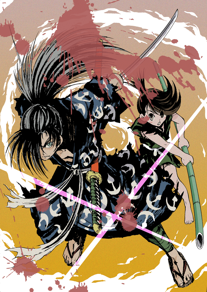 Hyakkimaru and Dororo ||| Dororo Fan Art | Art | Anime, Manga, Manga ...