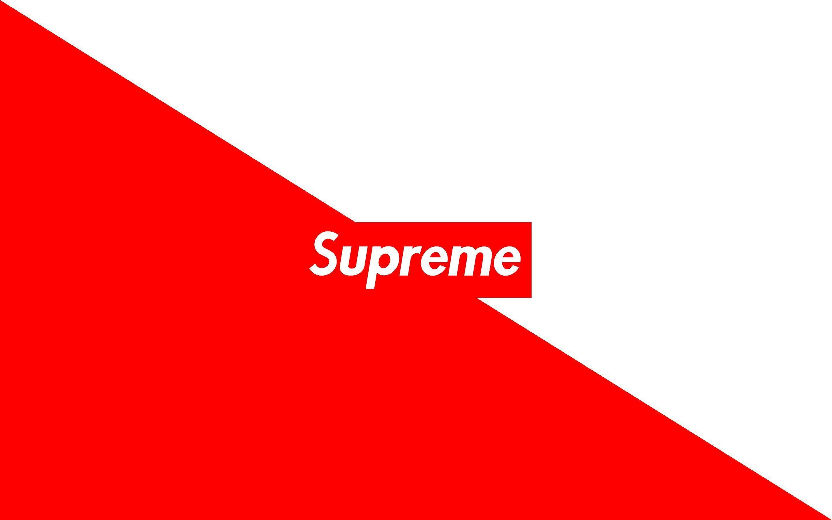 Red Supreme Wallpapers Wallpaper Cave