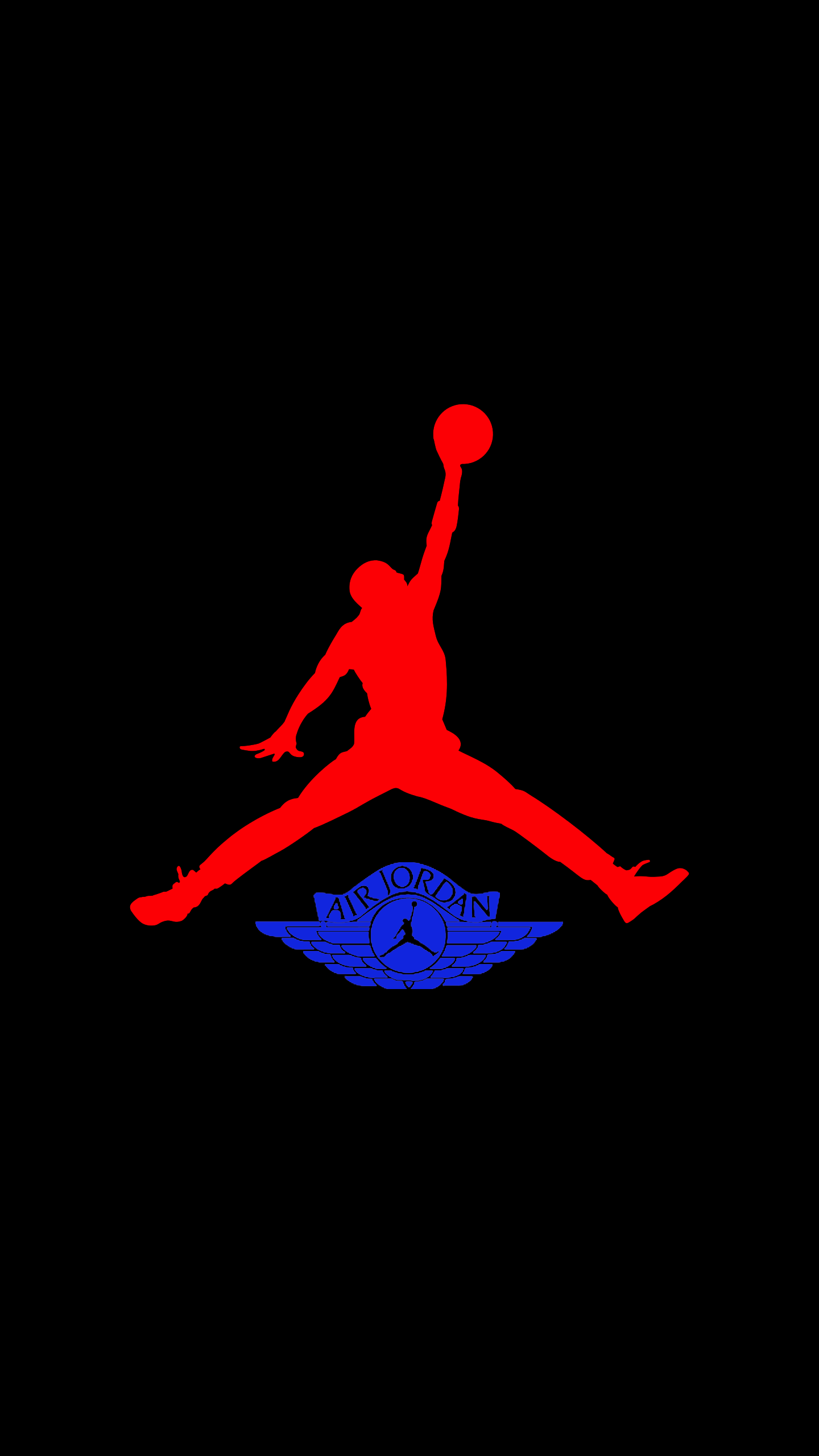 Air Jordan 4k AMOLED Wallpapers Made By Yuval Zarchi in Photoshop