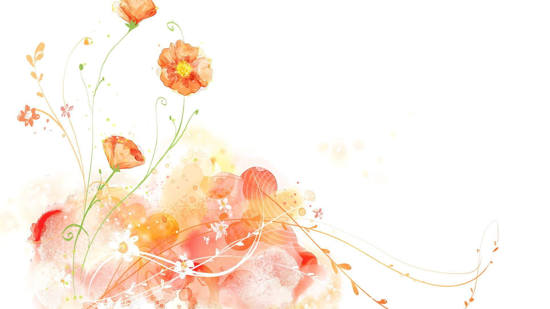 Watercolor Flowers Wallpapers Wallpaper Cave
