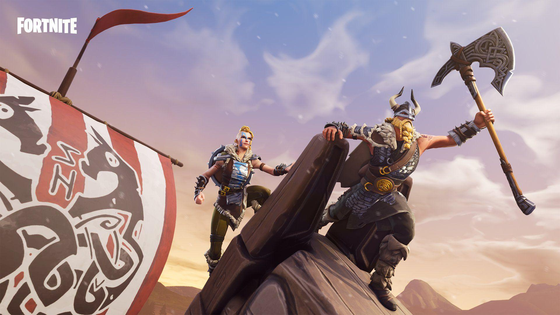 Fortnite Backgrounds Vikings Wallpapers and Free Stock Photos