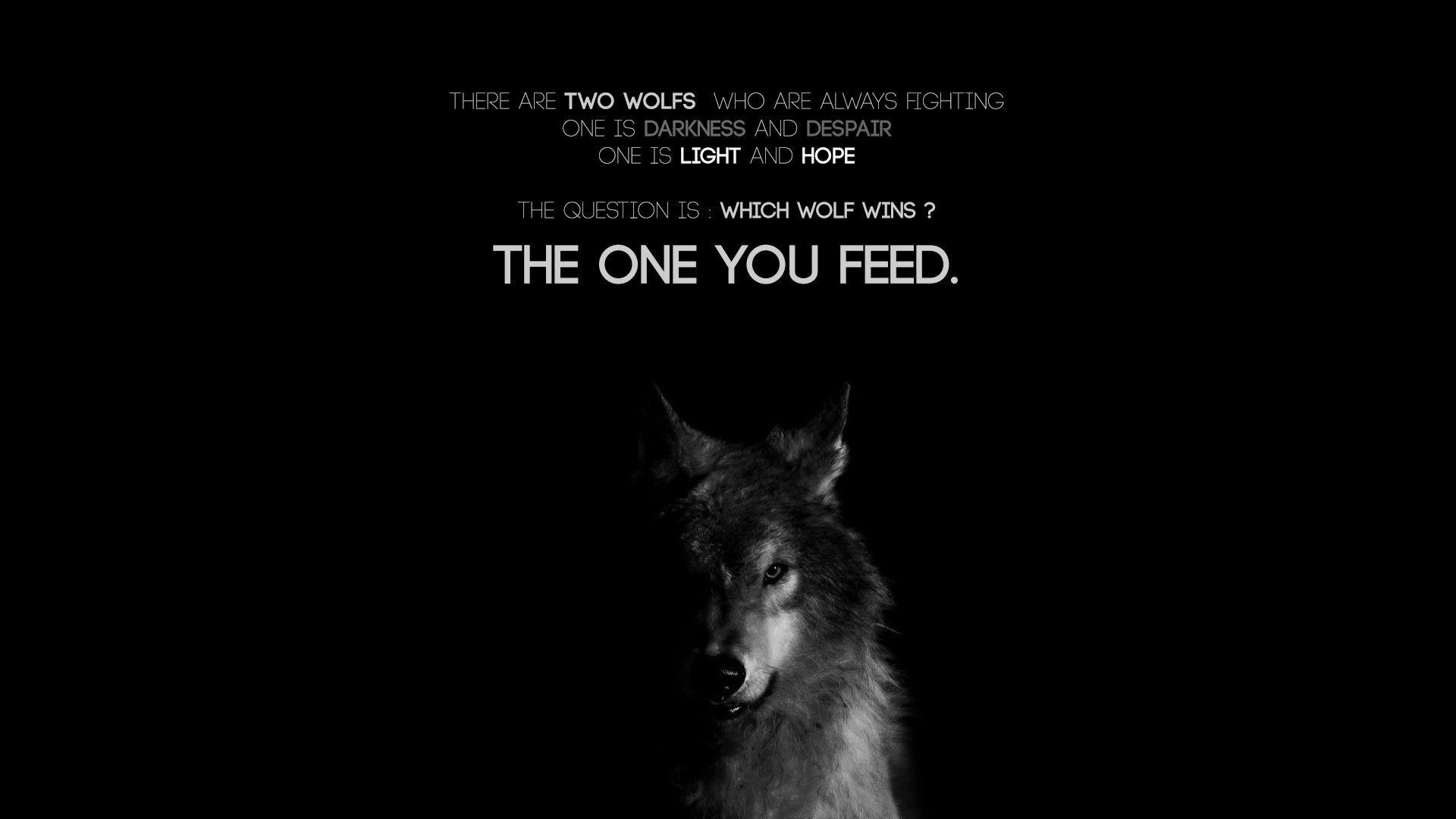 Wolf Quotes Wallpapers - Wallpaper Cave