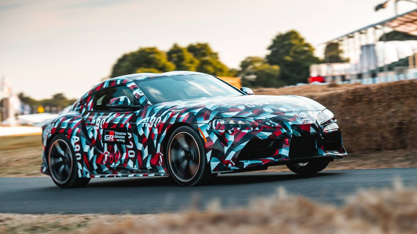 2020 Toyota Supra Wallpapers - Wallpaper Cave