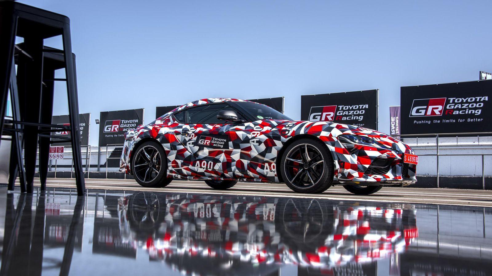 Listen to the 2020 Toyota Supra's straight