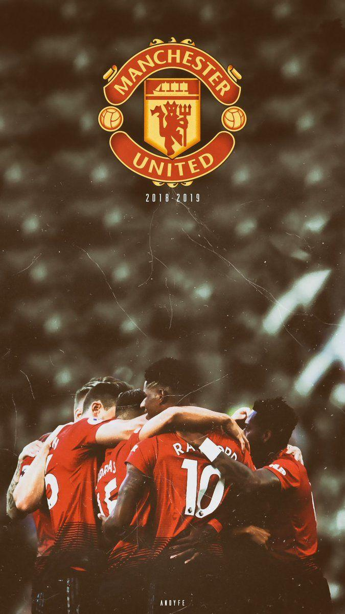 Manchester United 2019 2020 Wallpaper