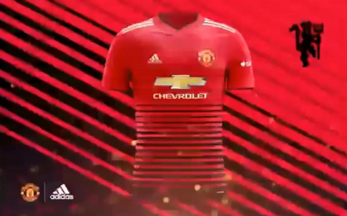 5230134cd79 New Manchester United kit for next season  leaked  in supposed .
